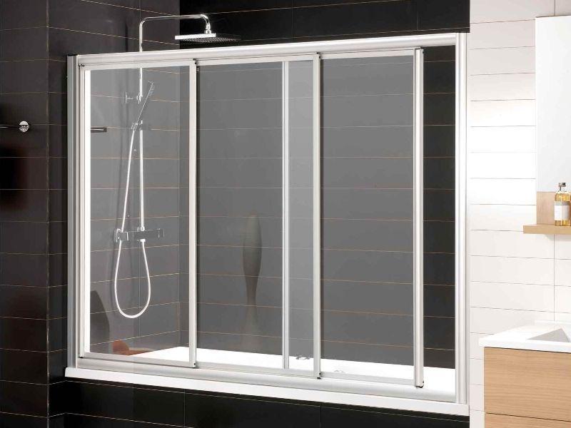 Mamparas de ba o aluminios de bolivia - Hacer una mampara de ducha ...